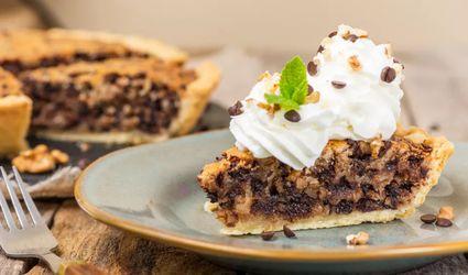 Kentucky Derby Chocolate Walnut Pie