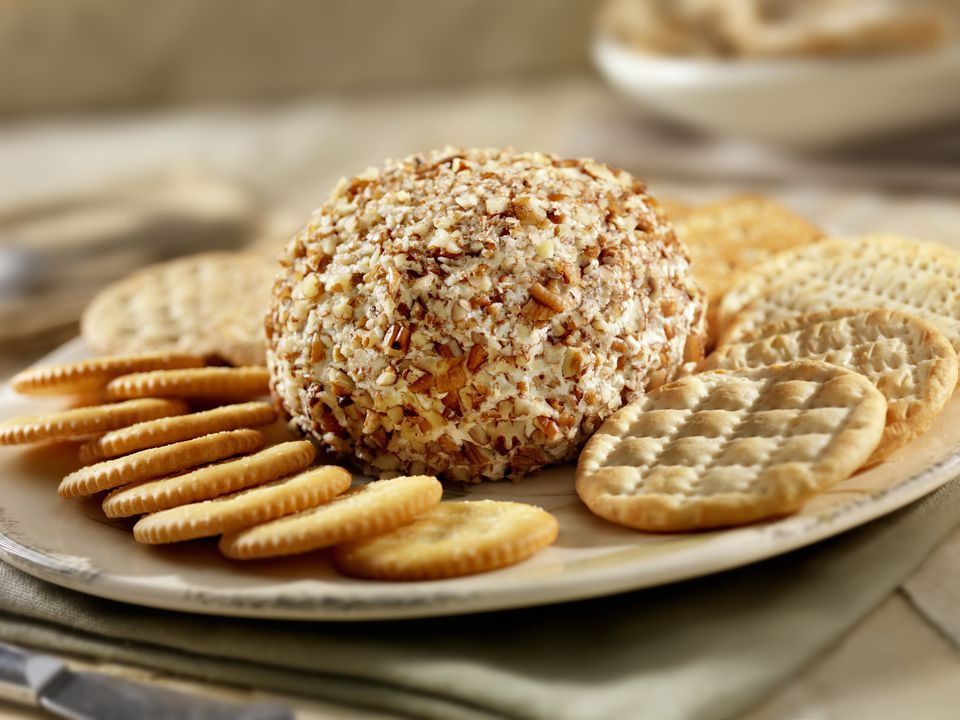Festive Cheese Ball with Pecans
