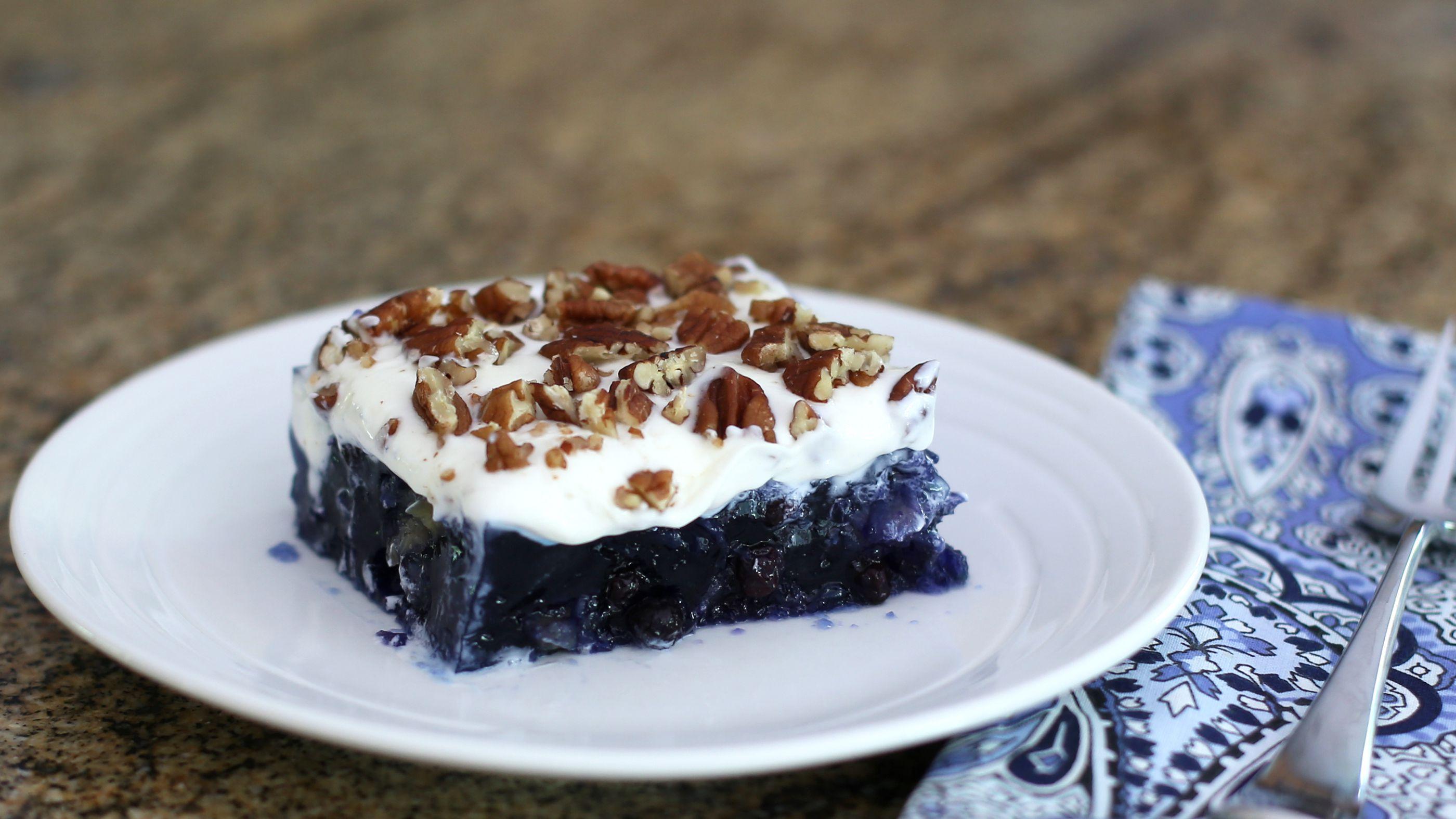 1980281b22f Blueberry Jell-O Salad Recipe