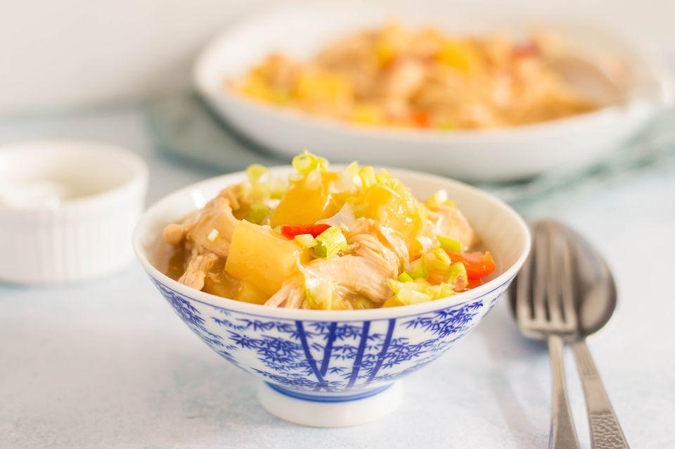 Low calorie crock pot pineapple chicken recipe