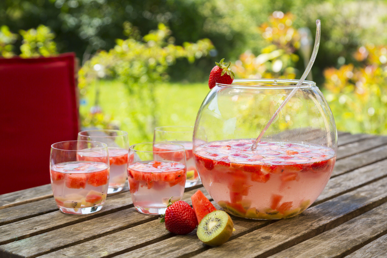 Summertime Fruit Punch Lemonade Recipe With Ciroc Vodka
