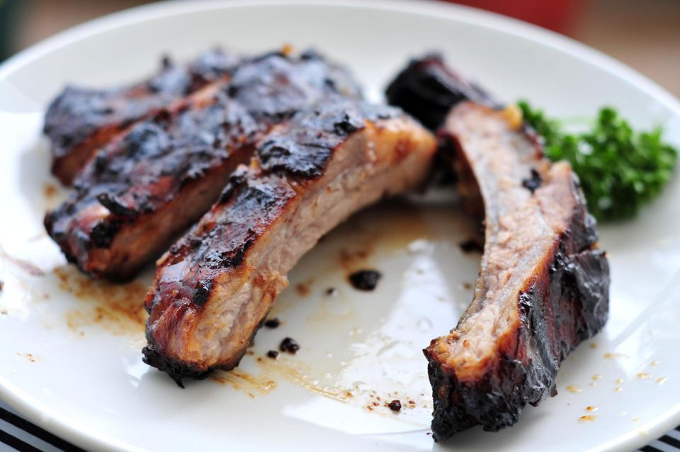 Homemade spare rib with Chinese sauce