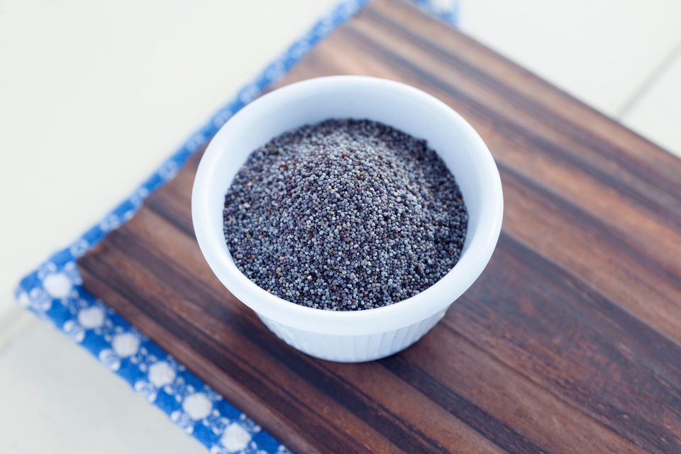 High Angle View of Poppy Seeds