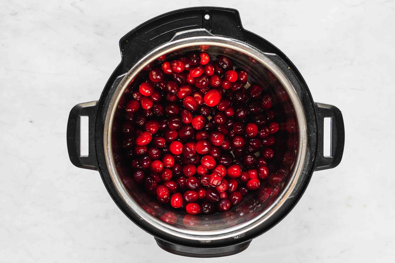 cranberries in an instant pot