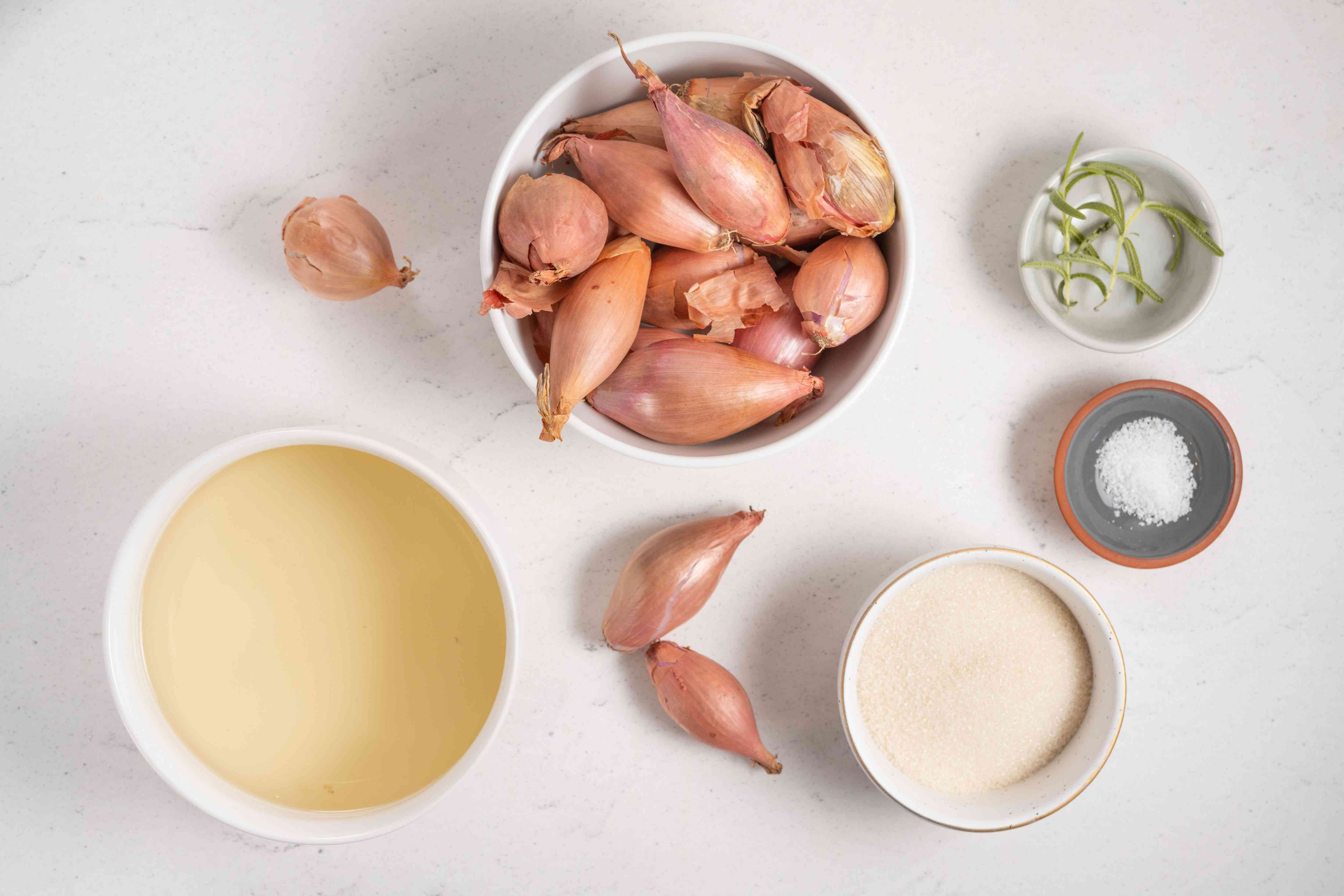 Pickled Shallots ingredients