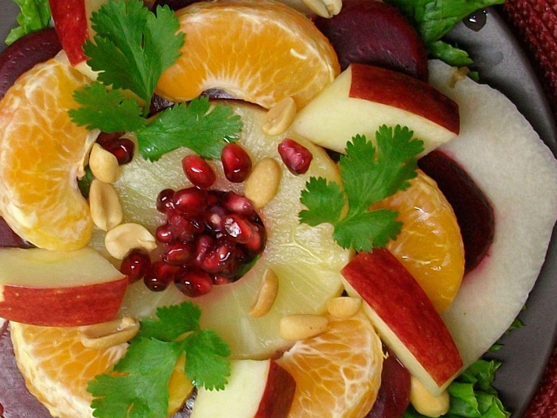 Christmas Fruit Salad.Mexican Christmas Eve Fruit Salad Ensalada De Nochebuena
