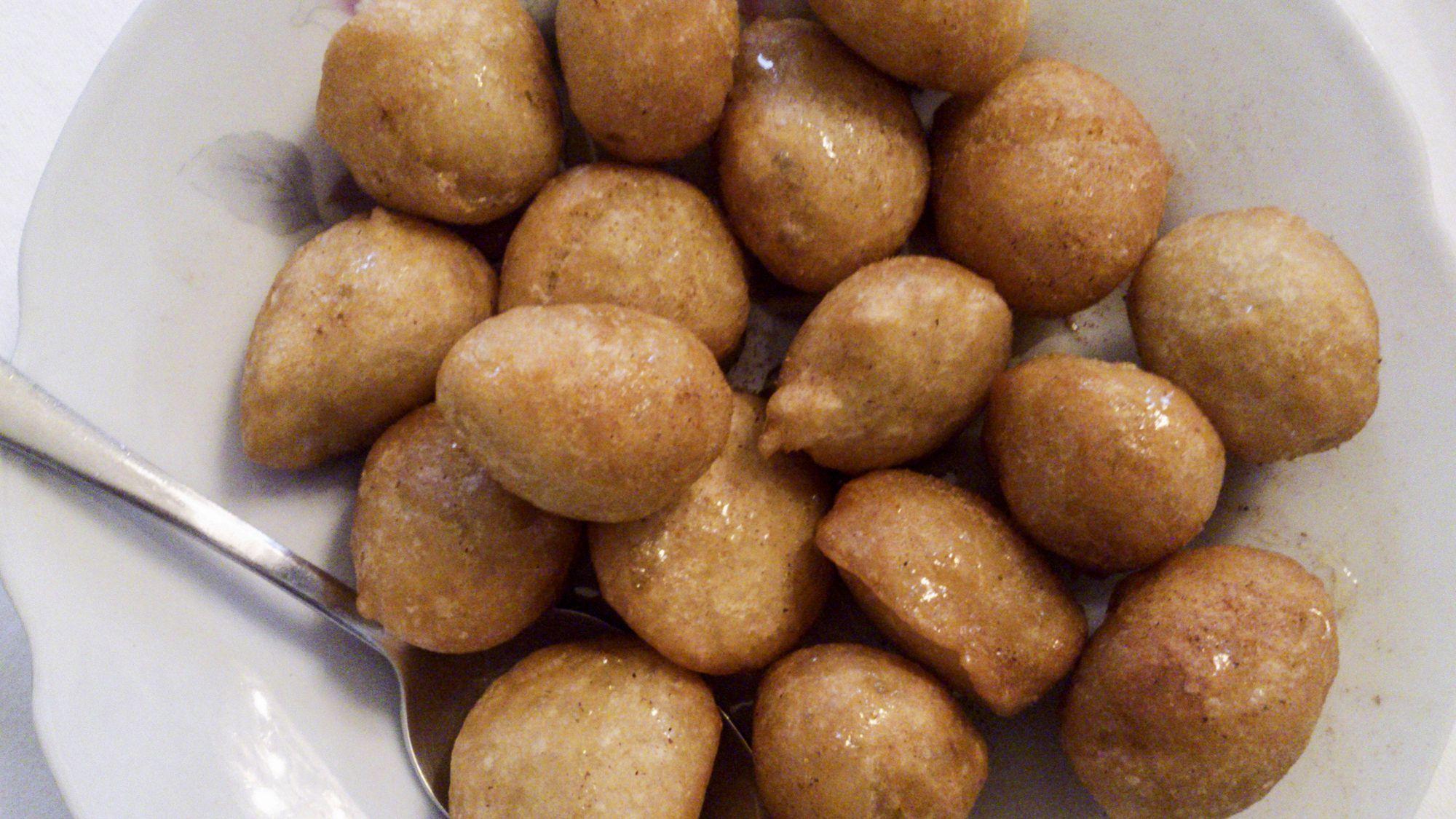Greek Loukoumades Honey Puffs Recipe