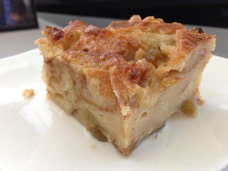 Basic Bread Pudding Dessert Recipe