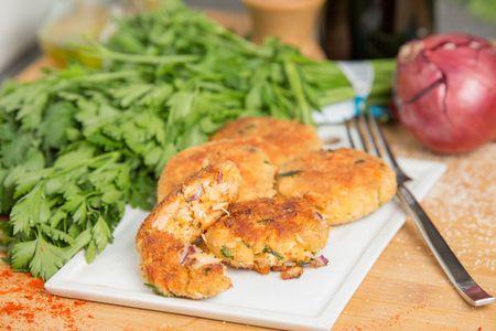 Salmon Cakes Panko Crusted Salmon Patties