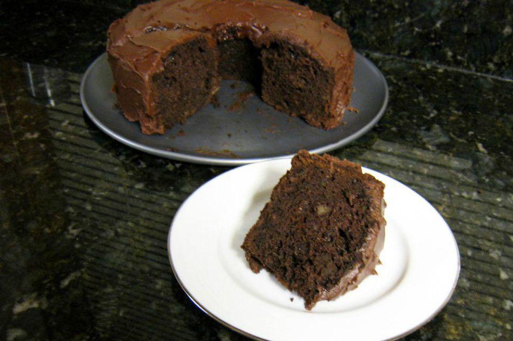 Easy Chocolate Zucchini Cake