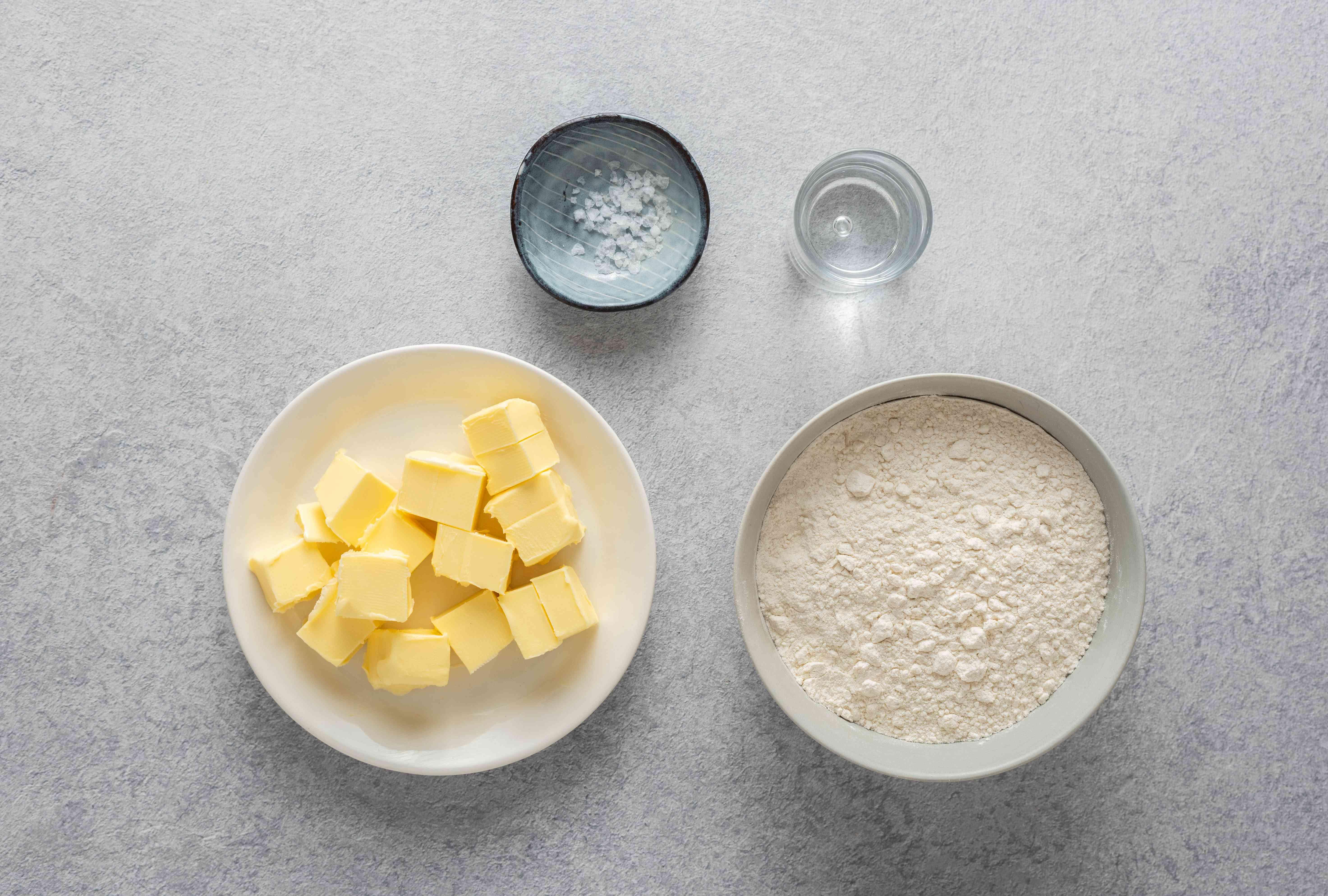 pie dough ingredients