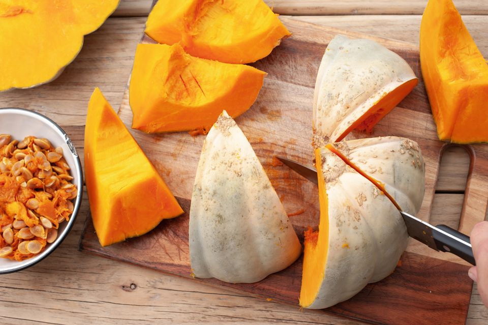 Baked Pumpkin Puree Recipe