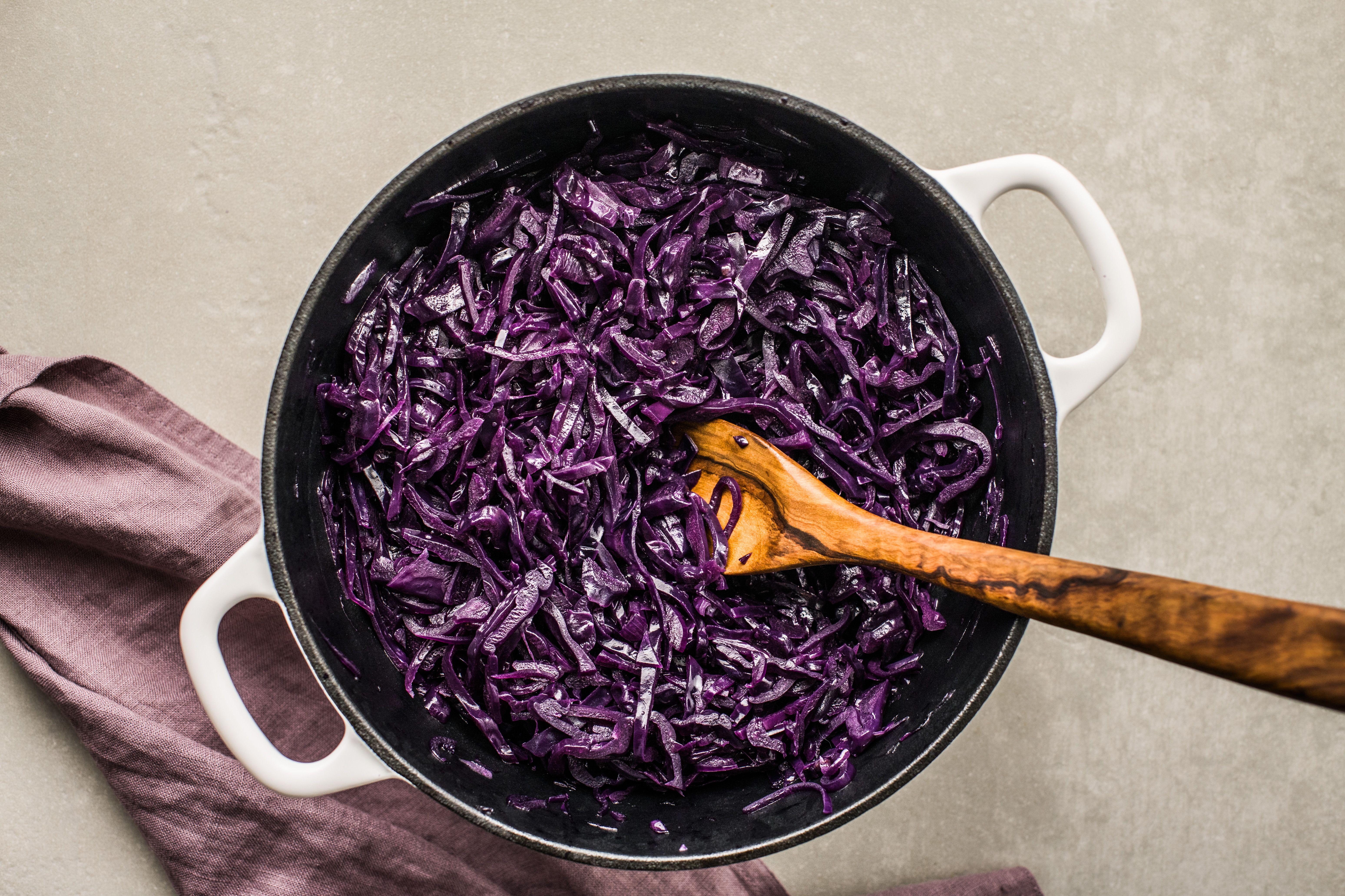 Cook until cabbage is tender