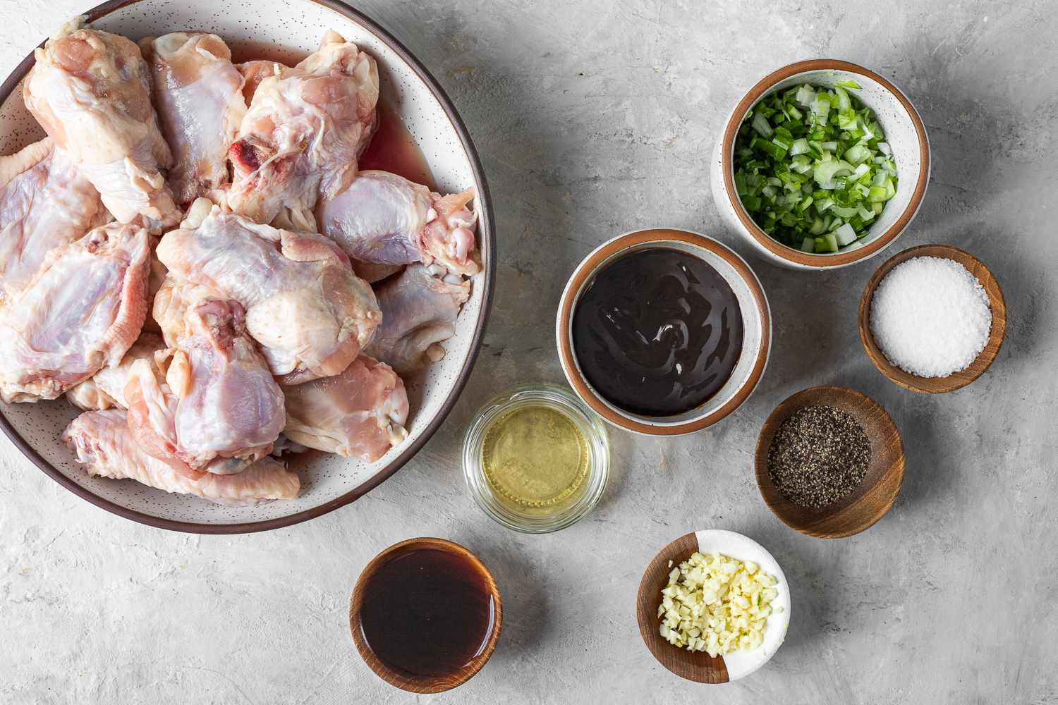 Chicken Wings With Oyster Sauce ingredients