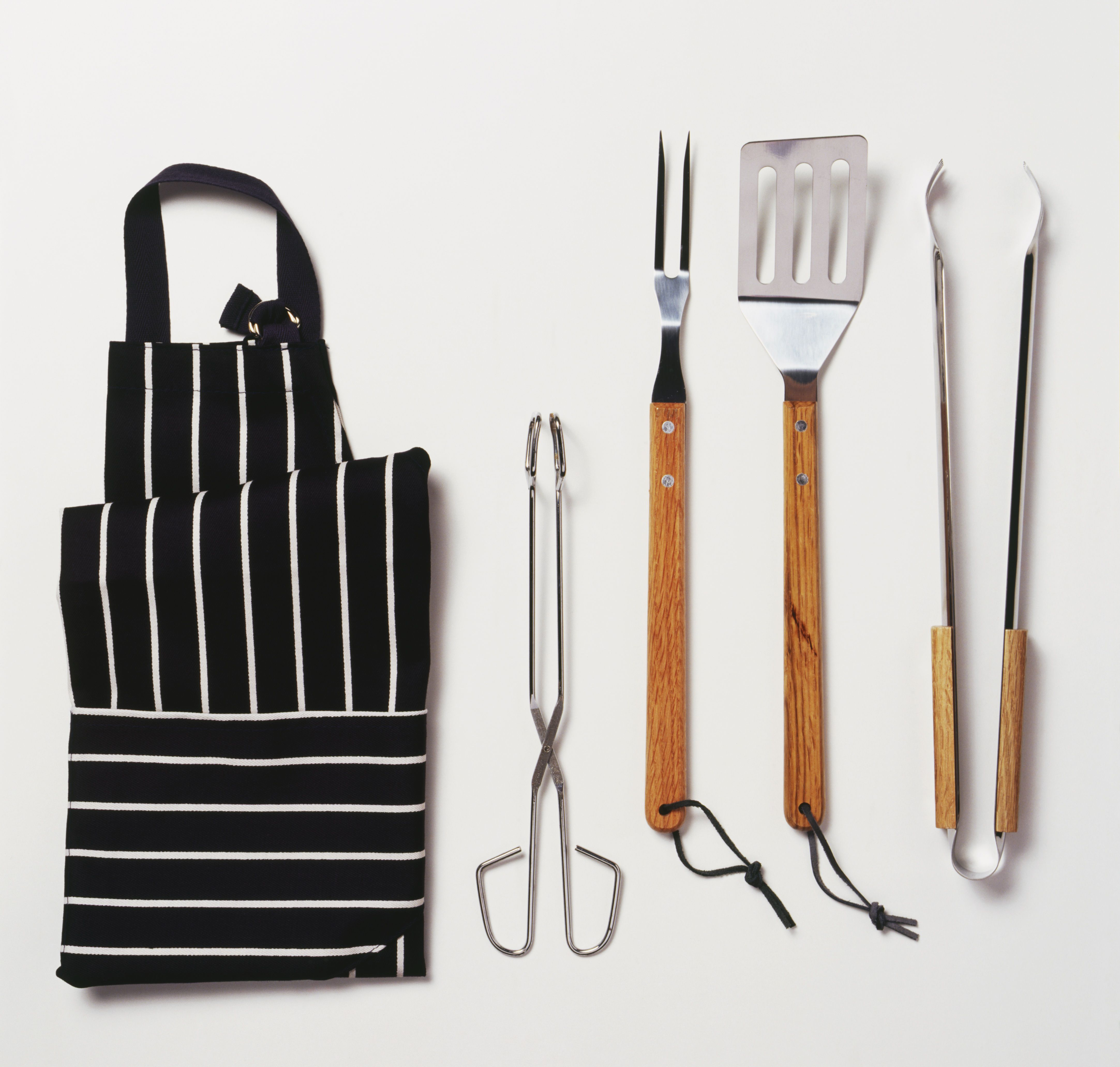 Tools needed for a barbecue.