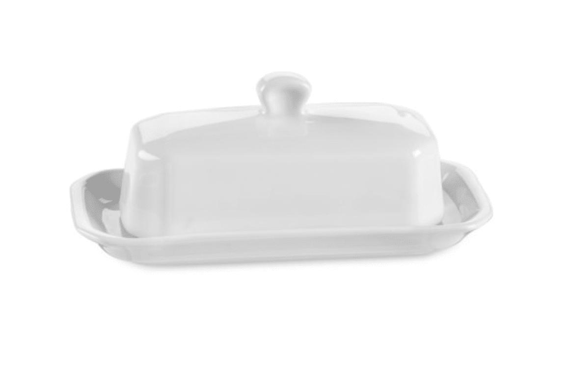Pillivuyt Covered Butter Dish