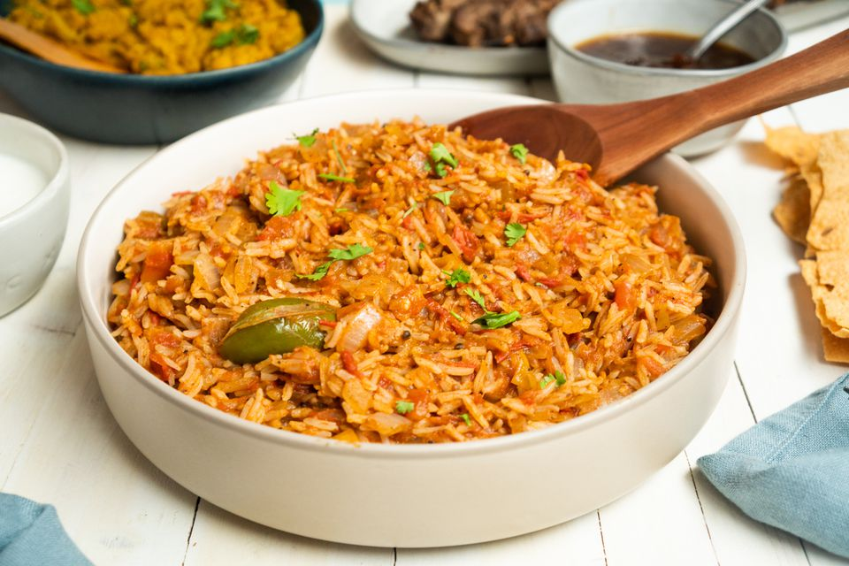 South Indian tangy tomato rice recipe