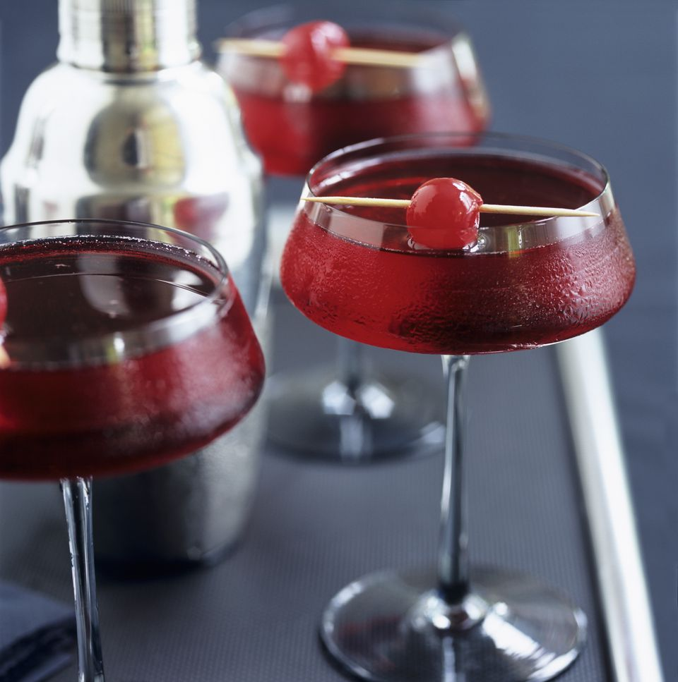 Fresh cranberry cocktail