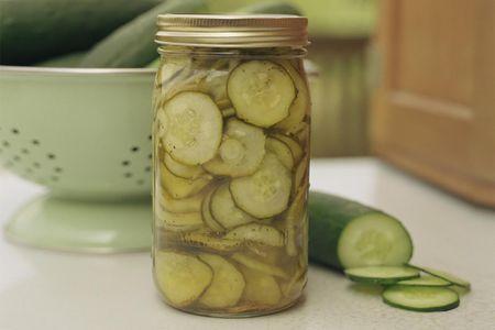 24 hour refrigerator pickles recipe
