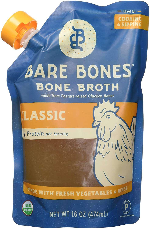 Bare Bones Chicken Bone Broth
