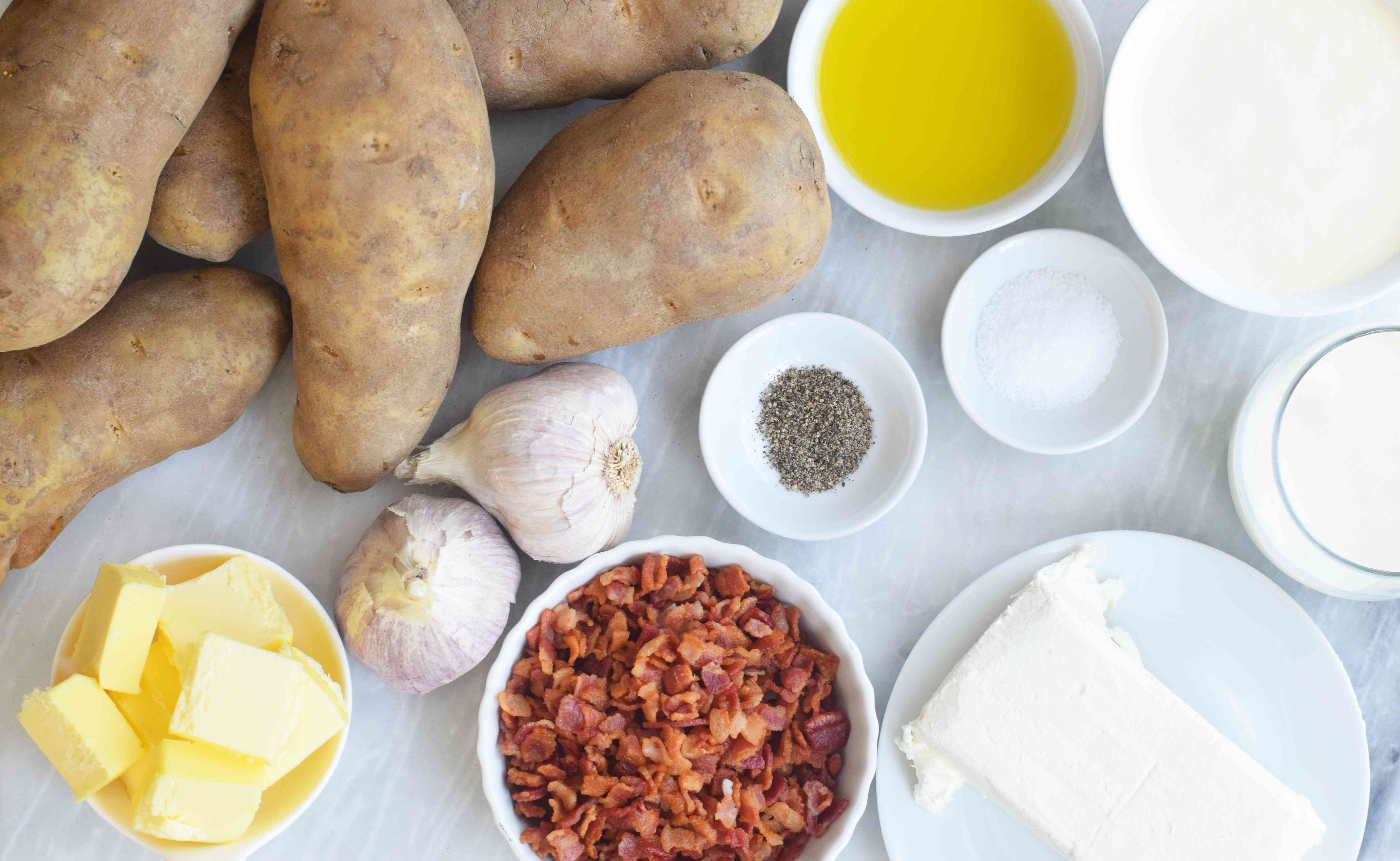 Loaded Mashed Potatoes ingredients