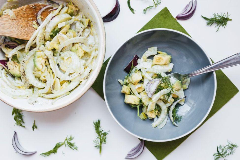 Fennel Avocado Salad