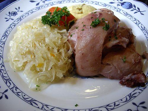Eisbein Eisbein mit Sauerkraut from Gaststaette Stralsunder in Rostock