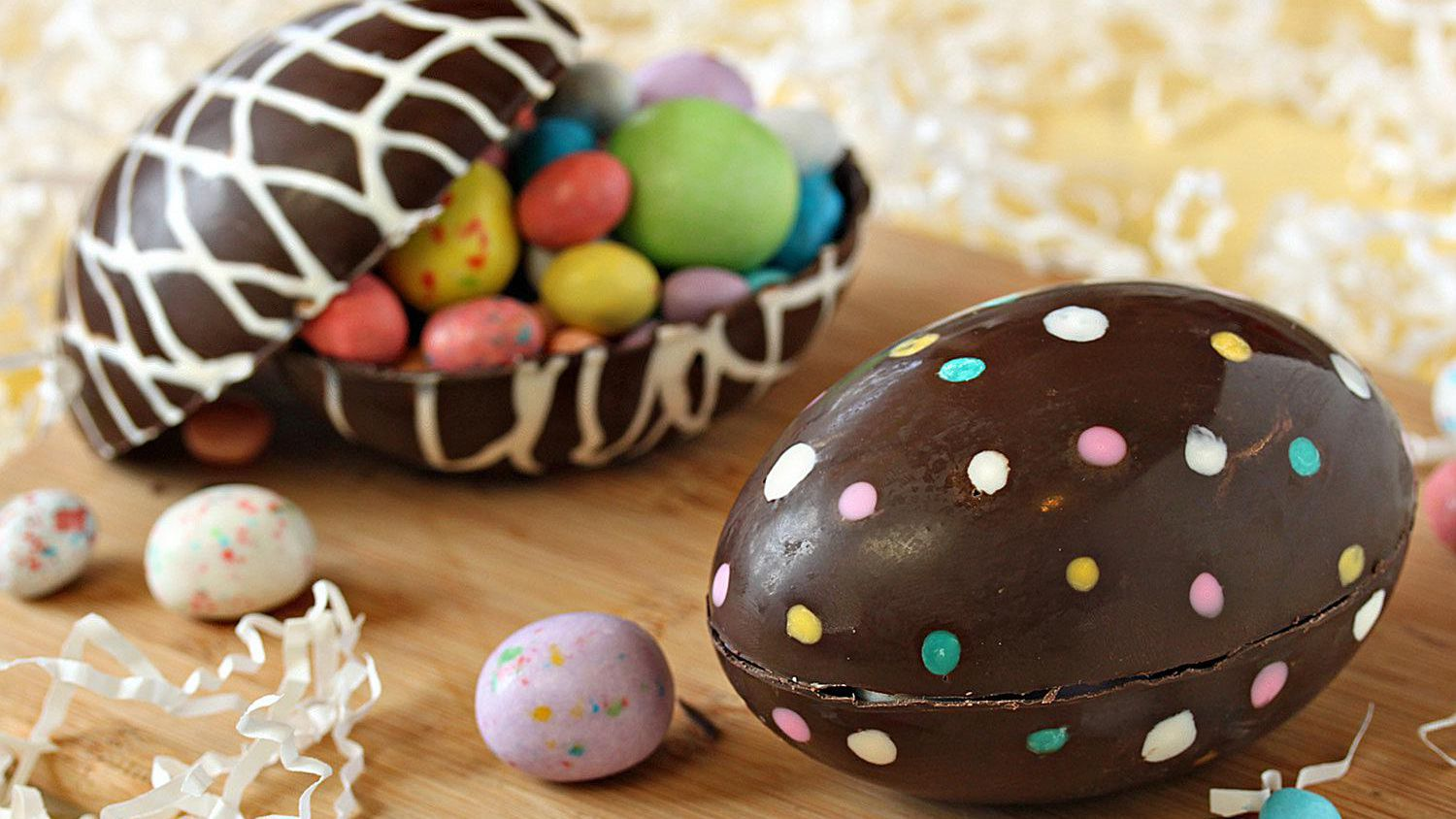 Image result for chocolate easter eggs""