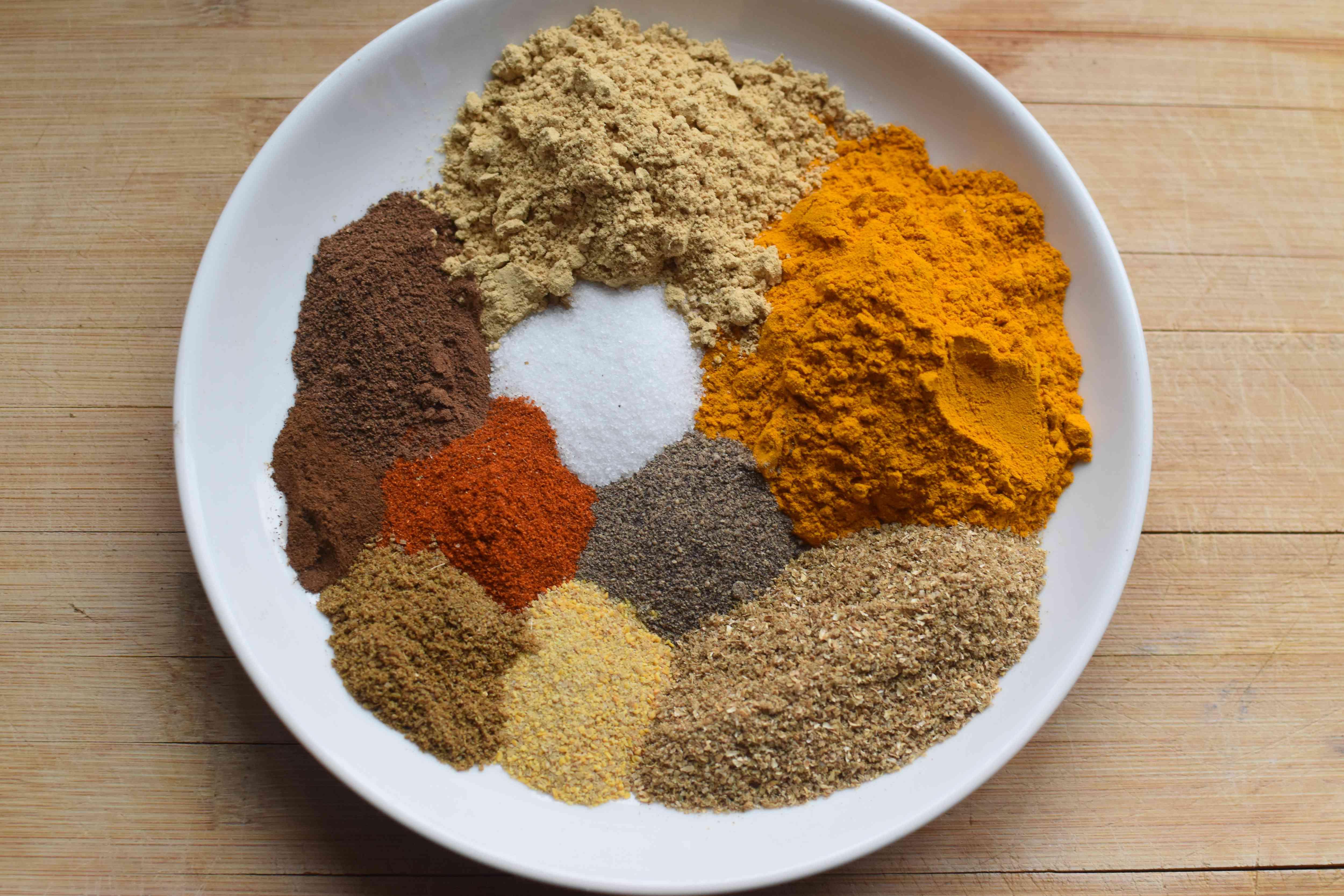 Nigerian Curry Powder ingredients