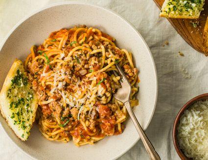 Instant pot spaghetti dinner recipe
