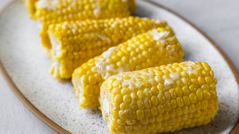 Steamed Corn On The Cob Recipe