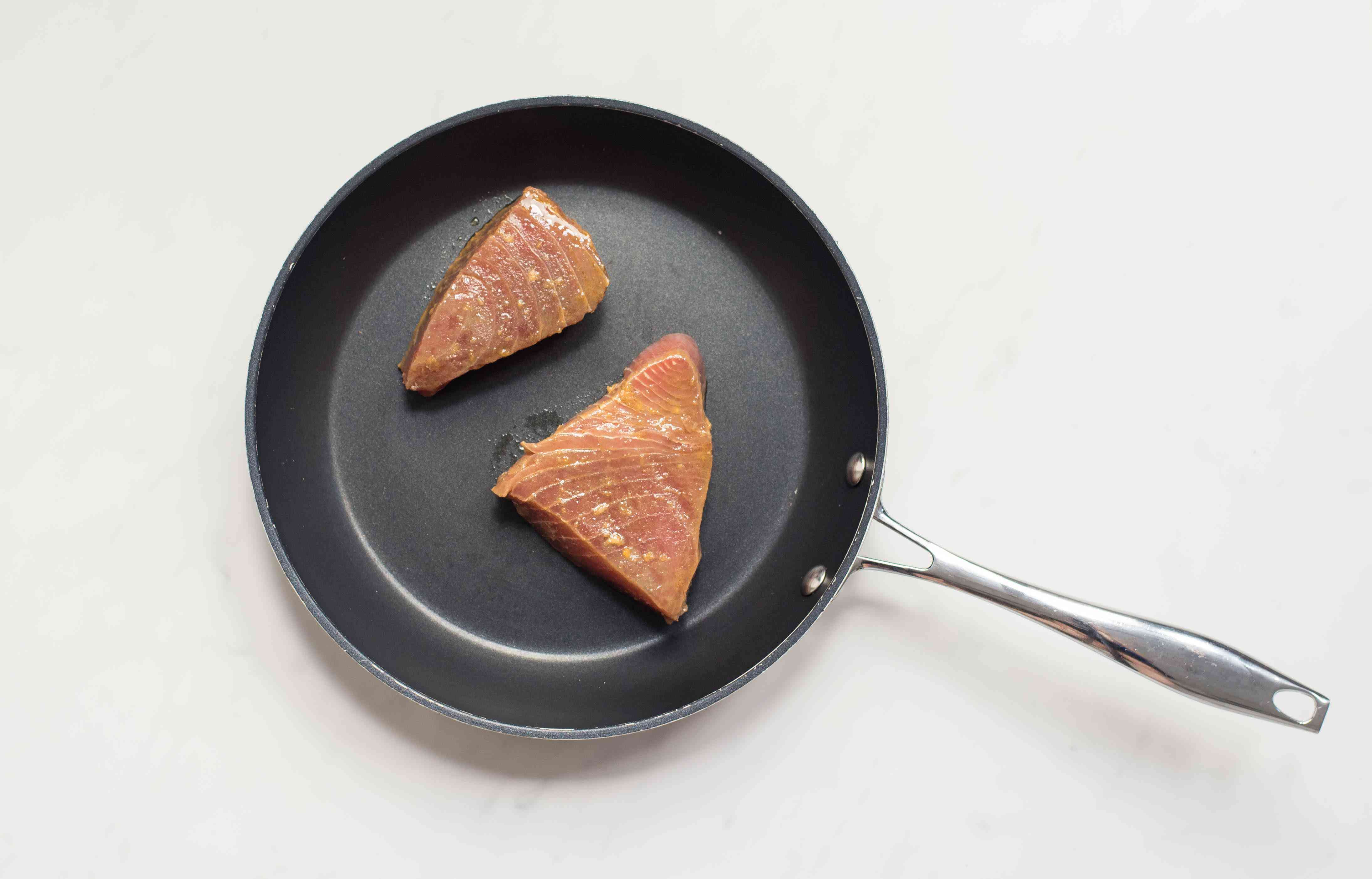 Put in frying pan