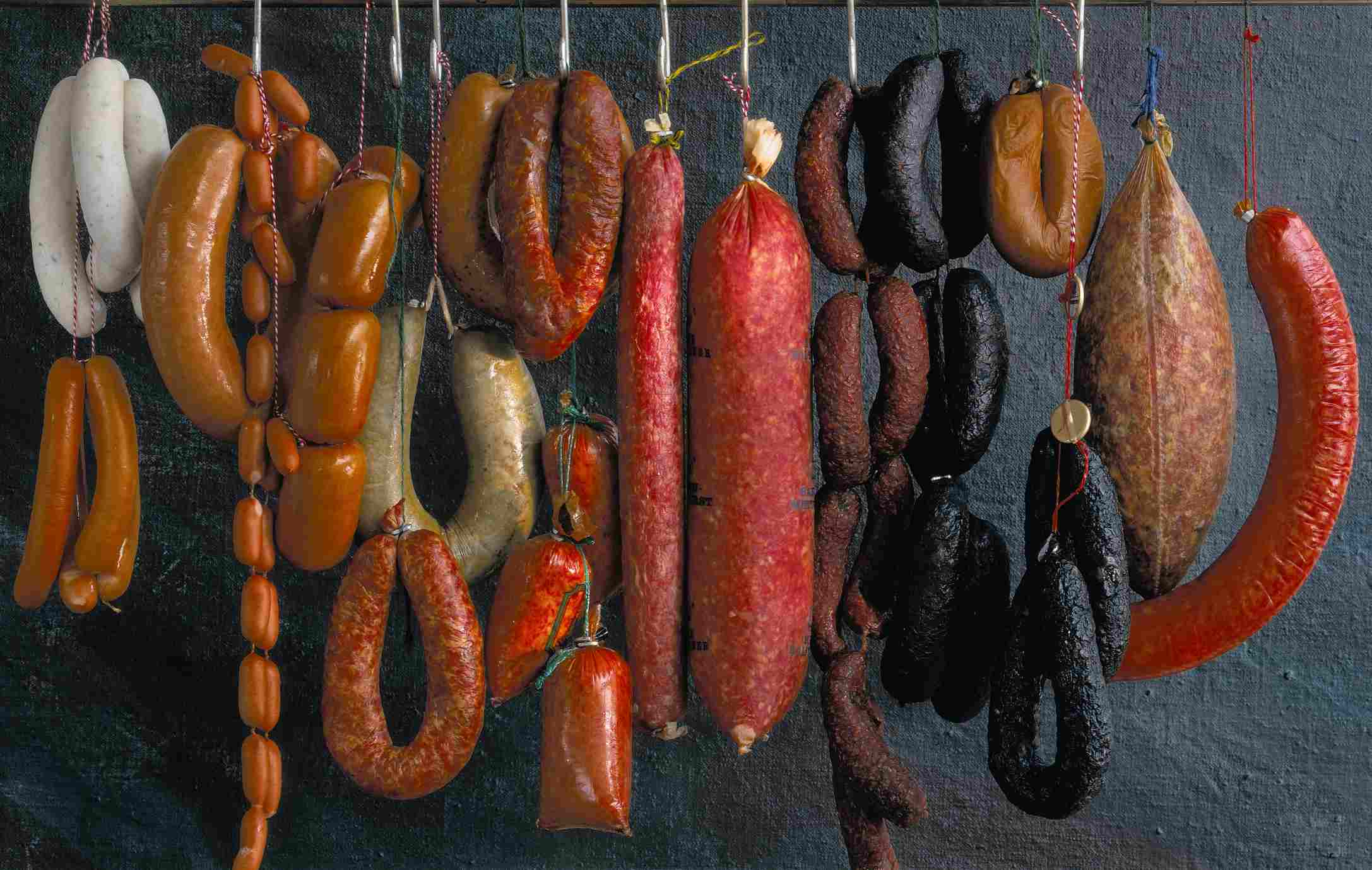 Types of sausages