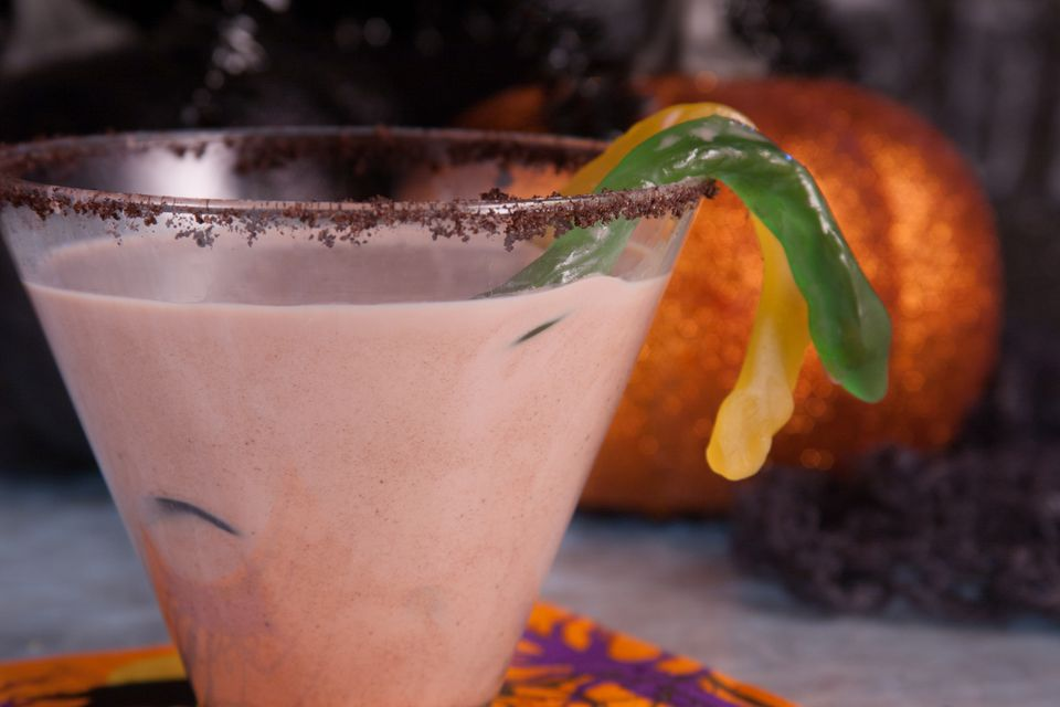 Ghost-tini Cocktail for Halloween
