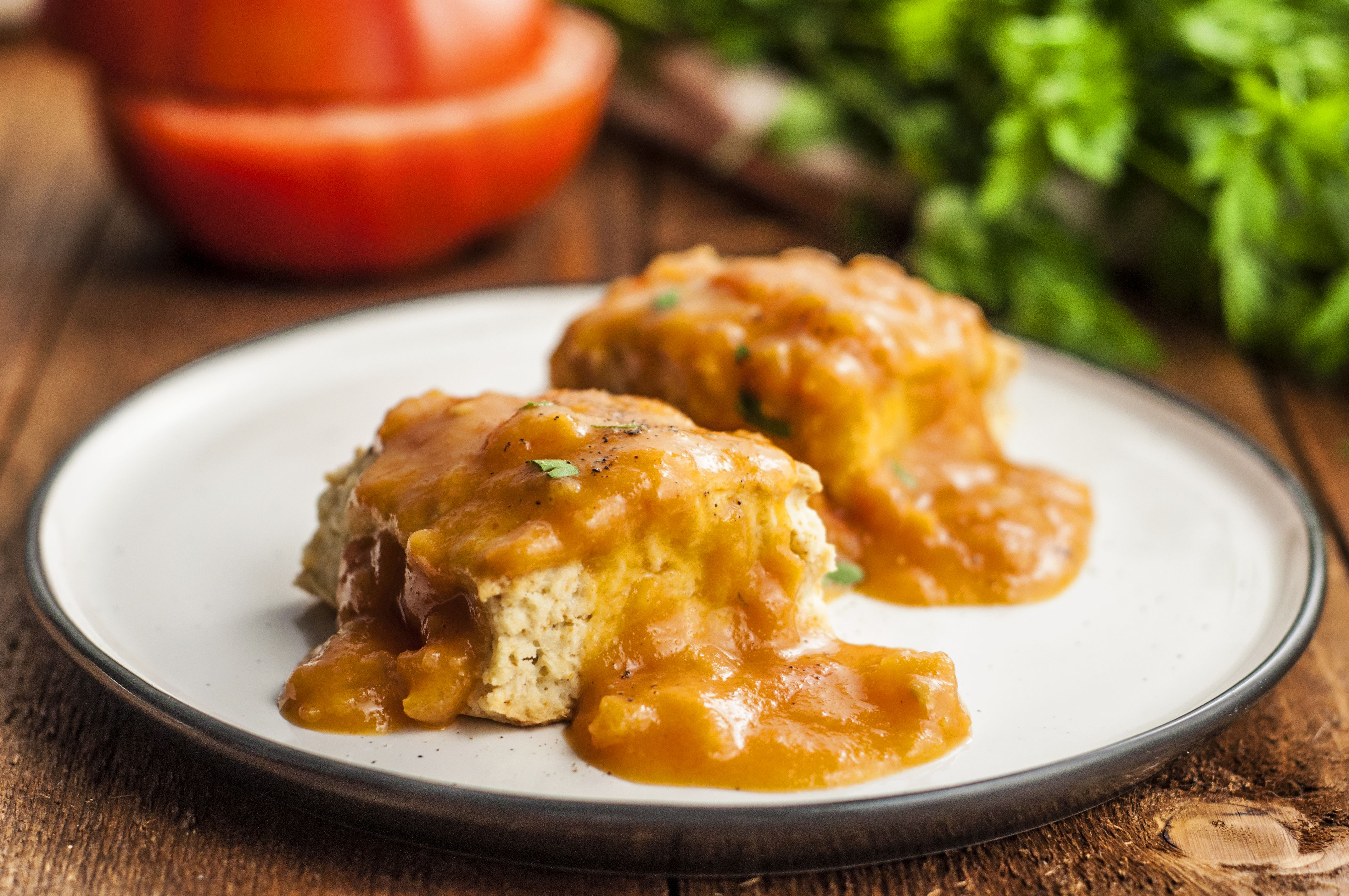 Old Fashioned Meatloaf With Stewed Tomatoes