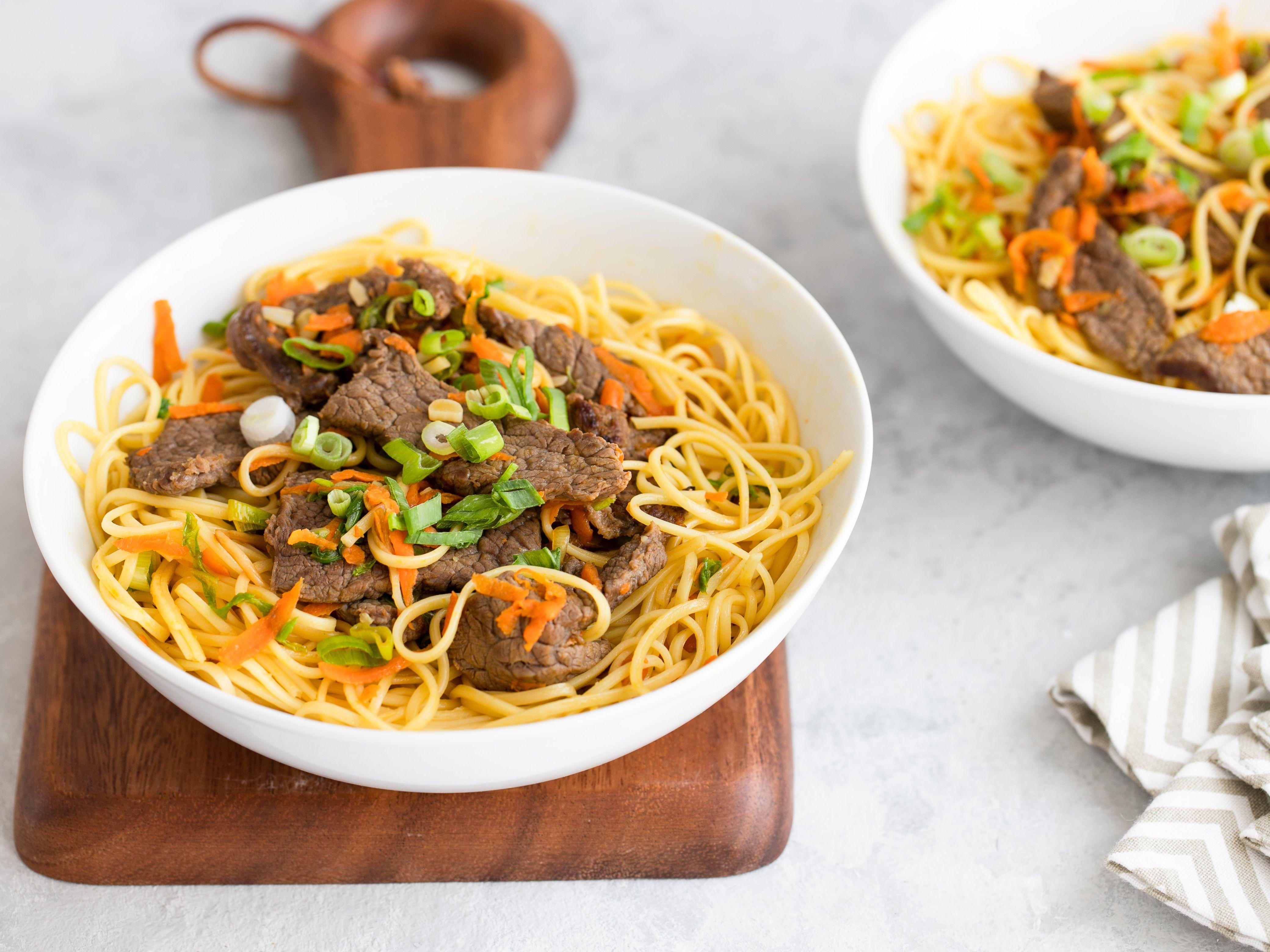 Easy Beef Lo Mein Recipe