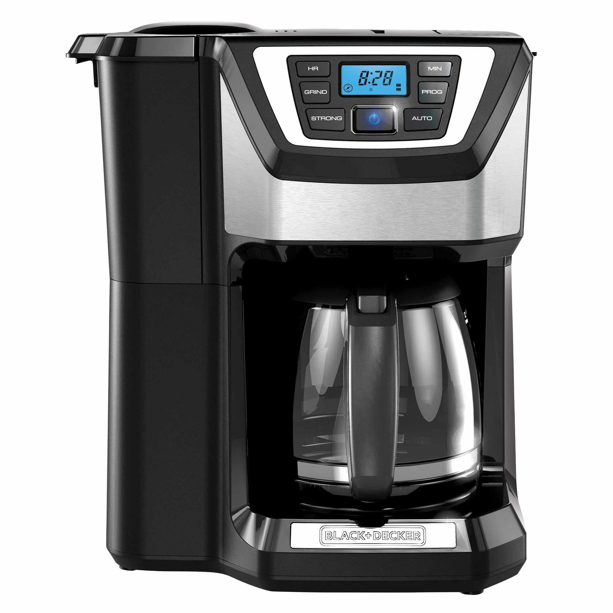 BLACK+DECKER 12-Cup Mill and Brew