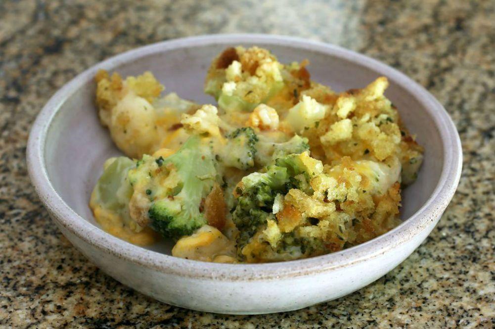Crock pot broccoli casserole