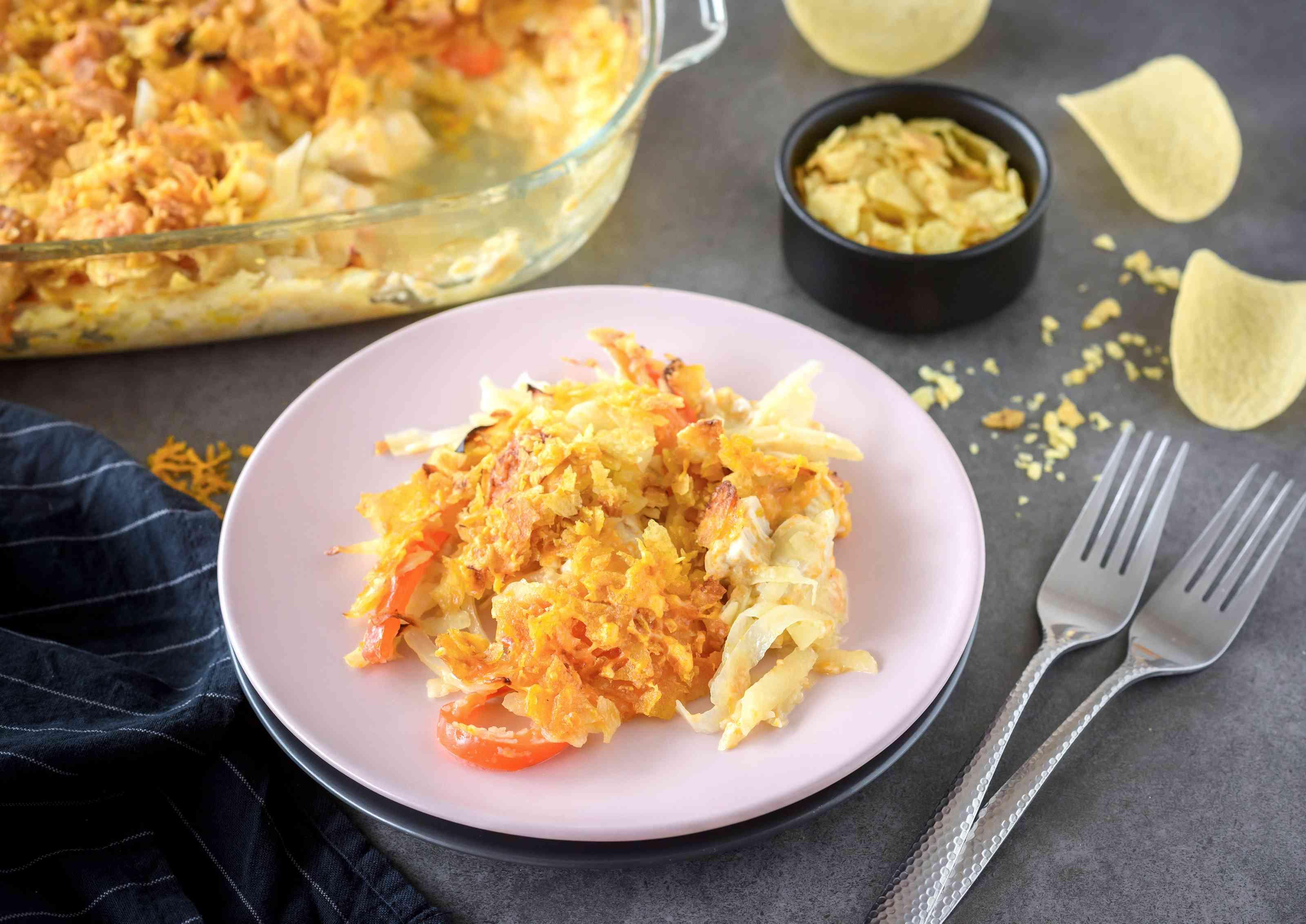 Chicken potato casserole recipe