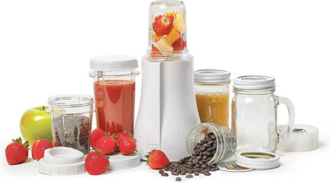 Tribest PB-350 Single-Serving Mason Jar Personal Blender