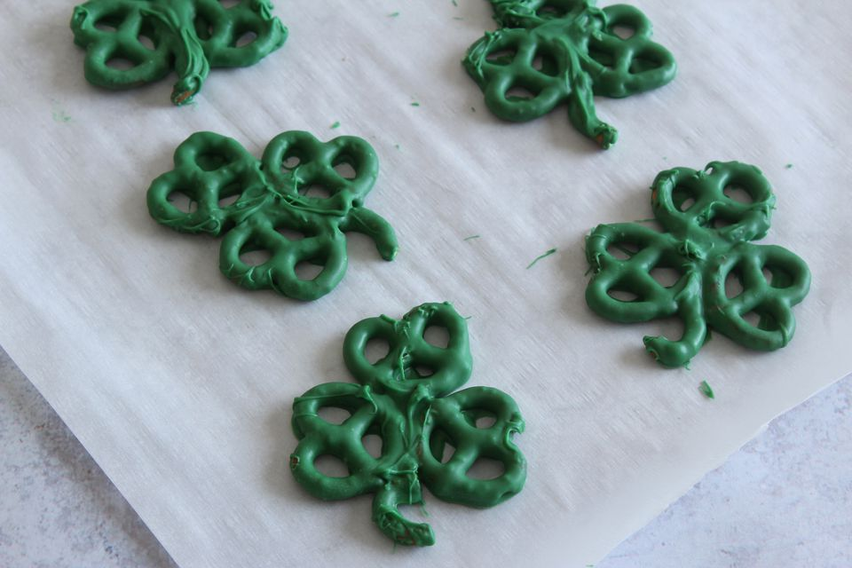 Shamrock pretzel recipe