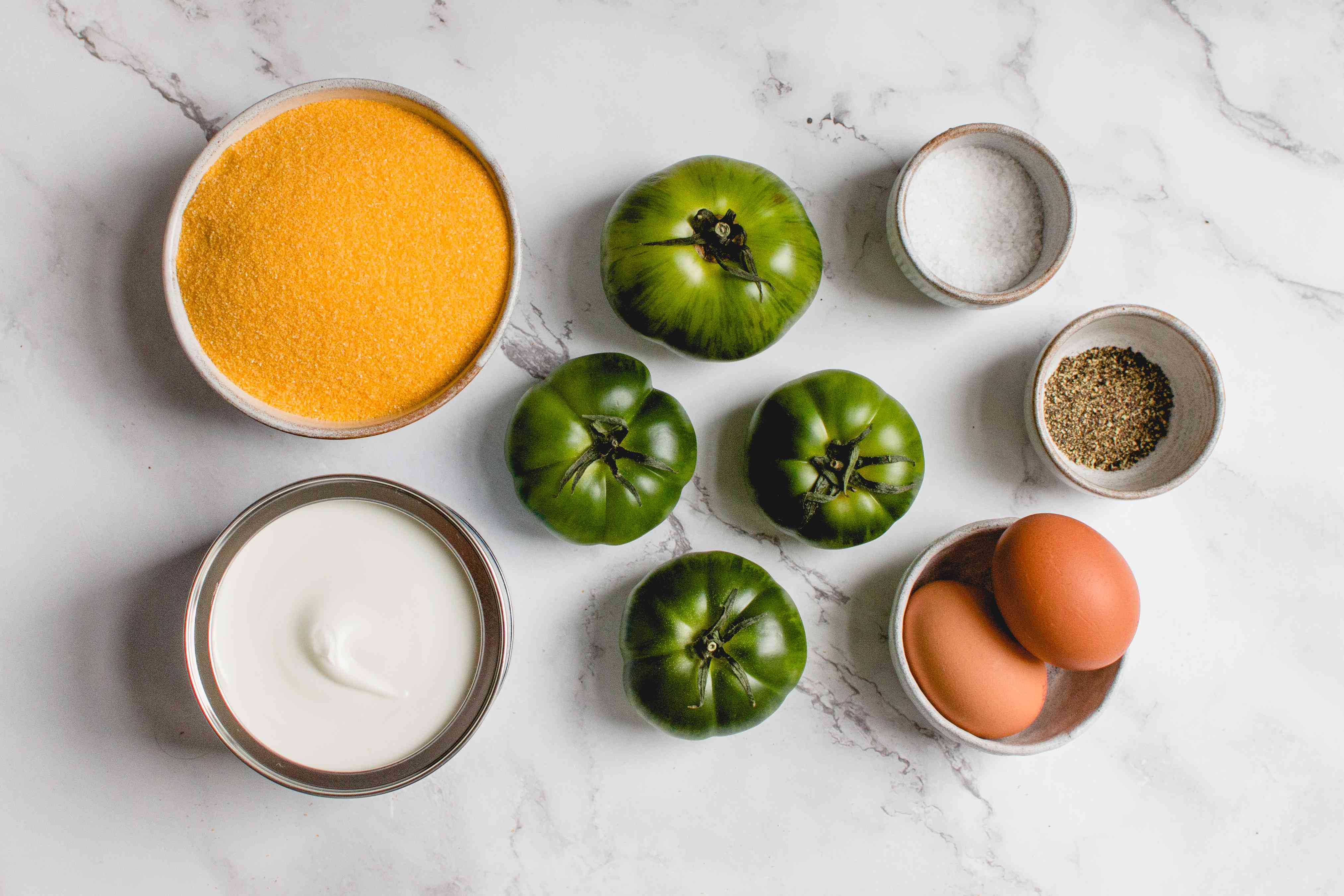 Classic Fried Green Tomatoes ingredients