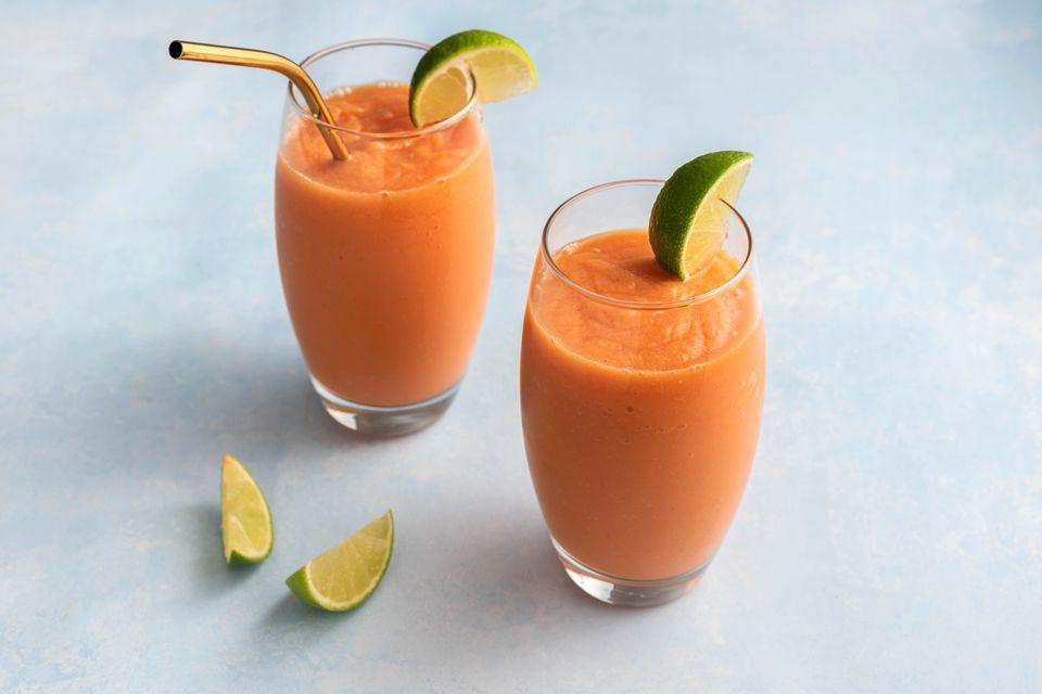 Papaya Smoothie (Batida de Lechosa)