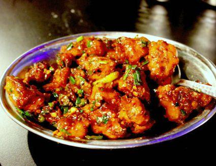 Gobhi Szechuan - Indo Chinese Sichuan style cauliflower stir-fry