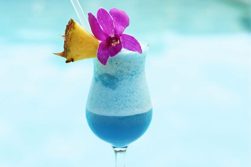 Chi-Chi Frozen Cocktail - Blue Vodka Cocktail