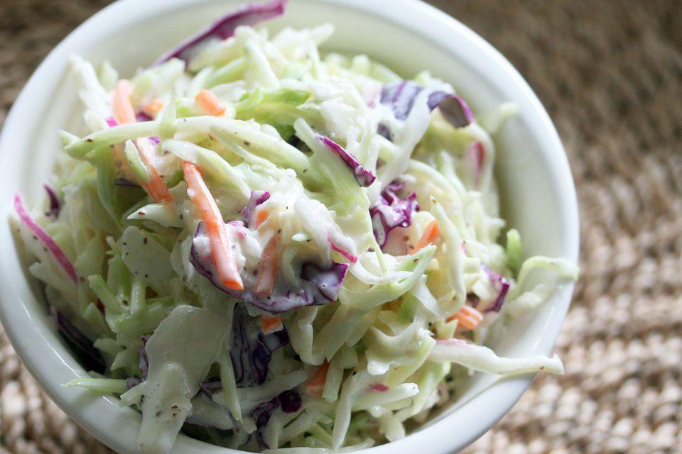 how to make vinegar coleslaw