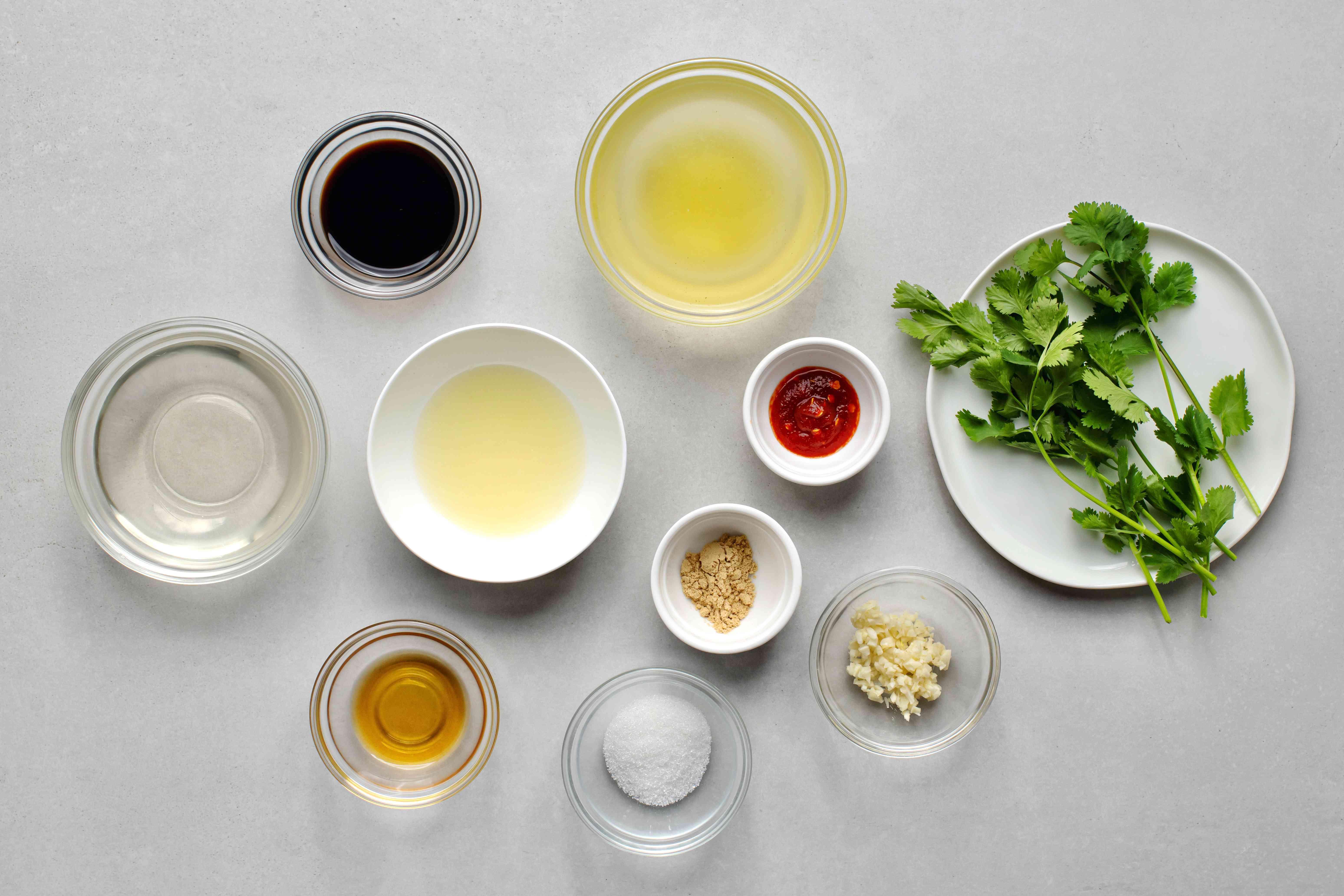 Low Calorie Asian Salad Dressing ingredients