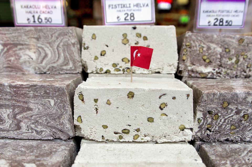 Receta turca de Tahini Helva