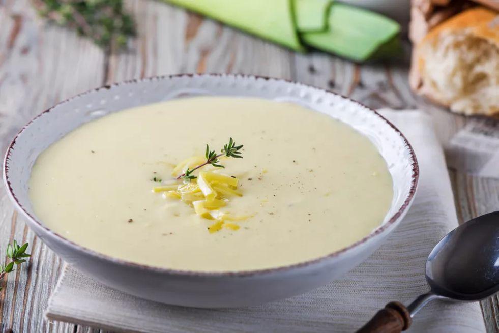 French Potato and Leek Soup