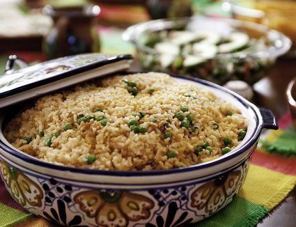 Mexican Rice With Pork